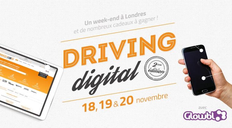 Reezocar lance la 2ème édition du Driving Digital
