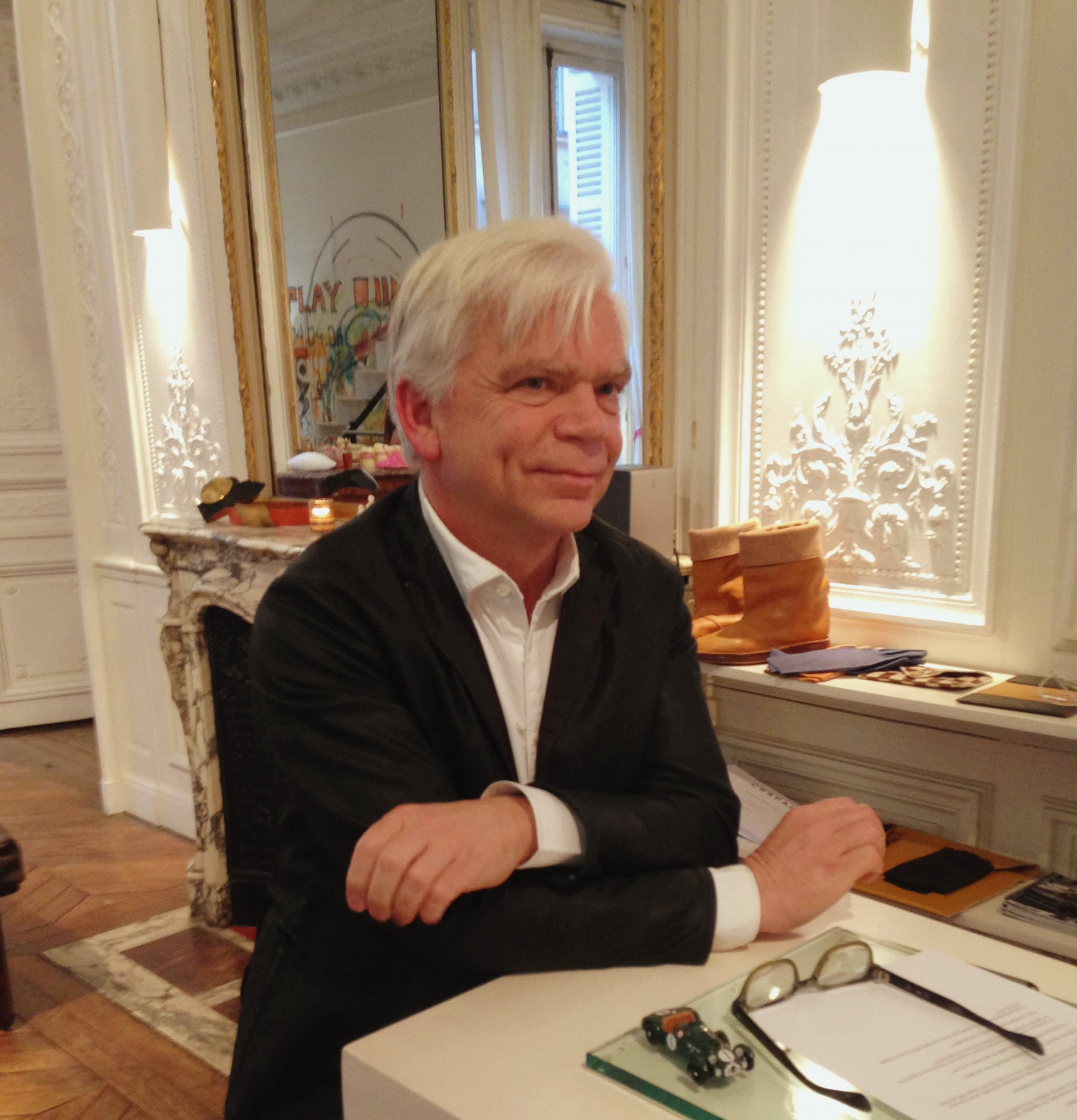 Interview de Monsieur Bardinon, Président de la maison Chapal