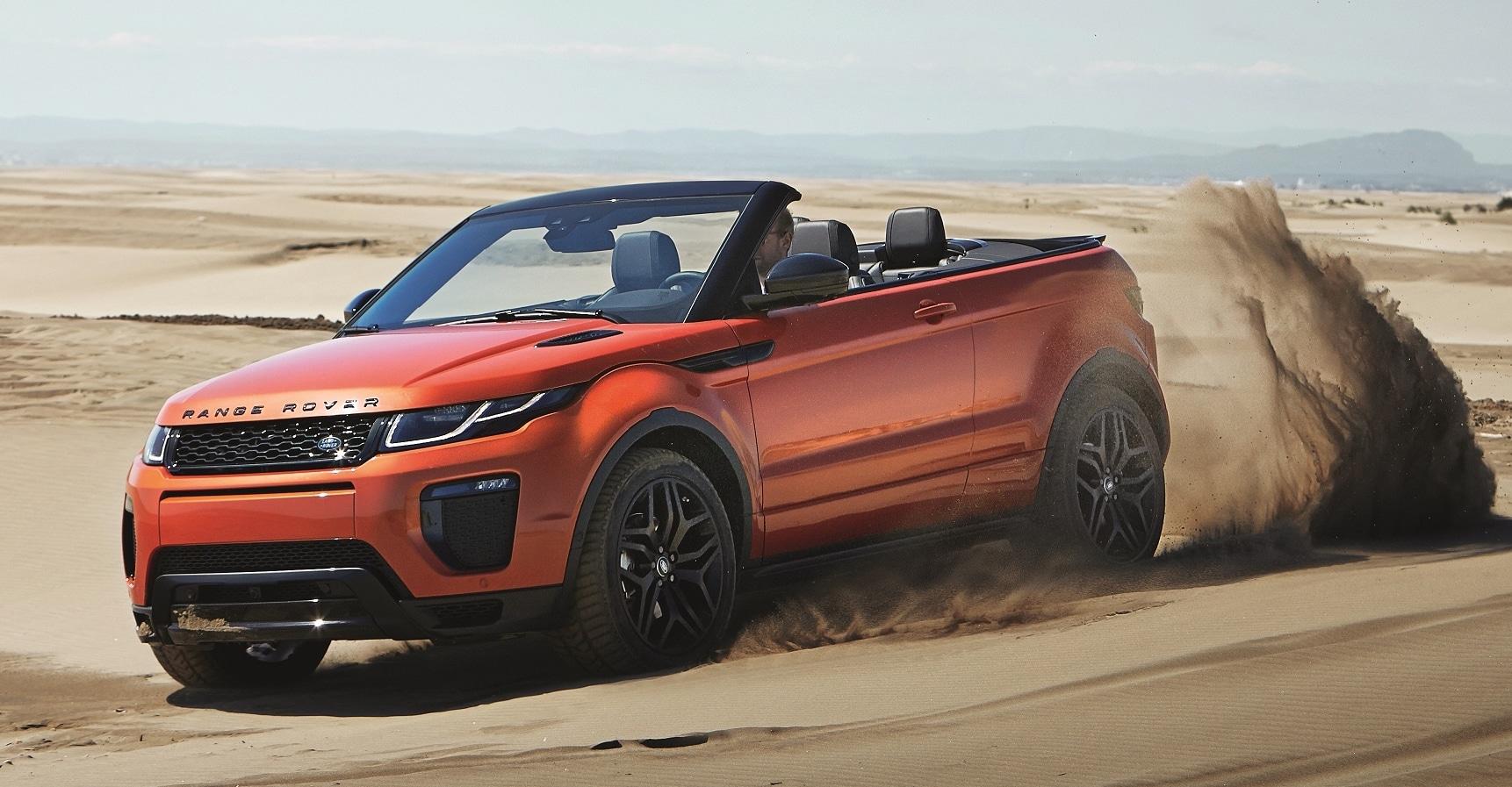 Actualité undefined - Photo d'illustration Range Rover Evoque cabriolet: 4 saisons, 4 roues motrices et 4 places