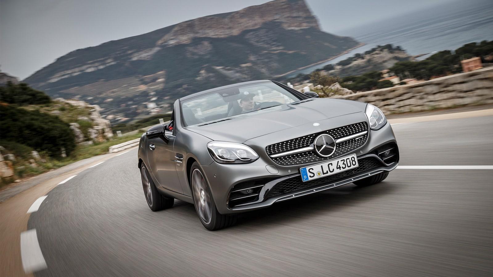 Mercedes SLC: 3 choses essentielles à retenir d'elle