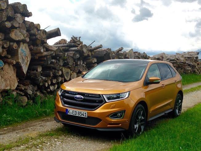 Ford Edge : grand, lourd, mais loin d'être pataud