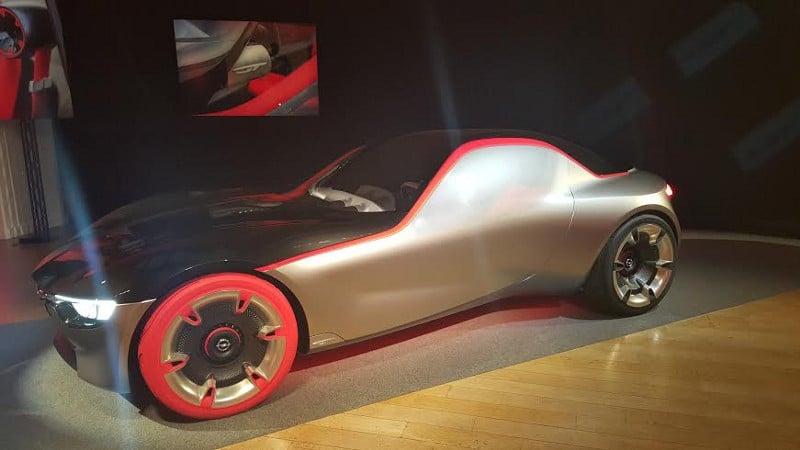 Actualité undefined - Photo d'illustration L'Opel concept GTplonge dans le passé pour revisiter l'avenir