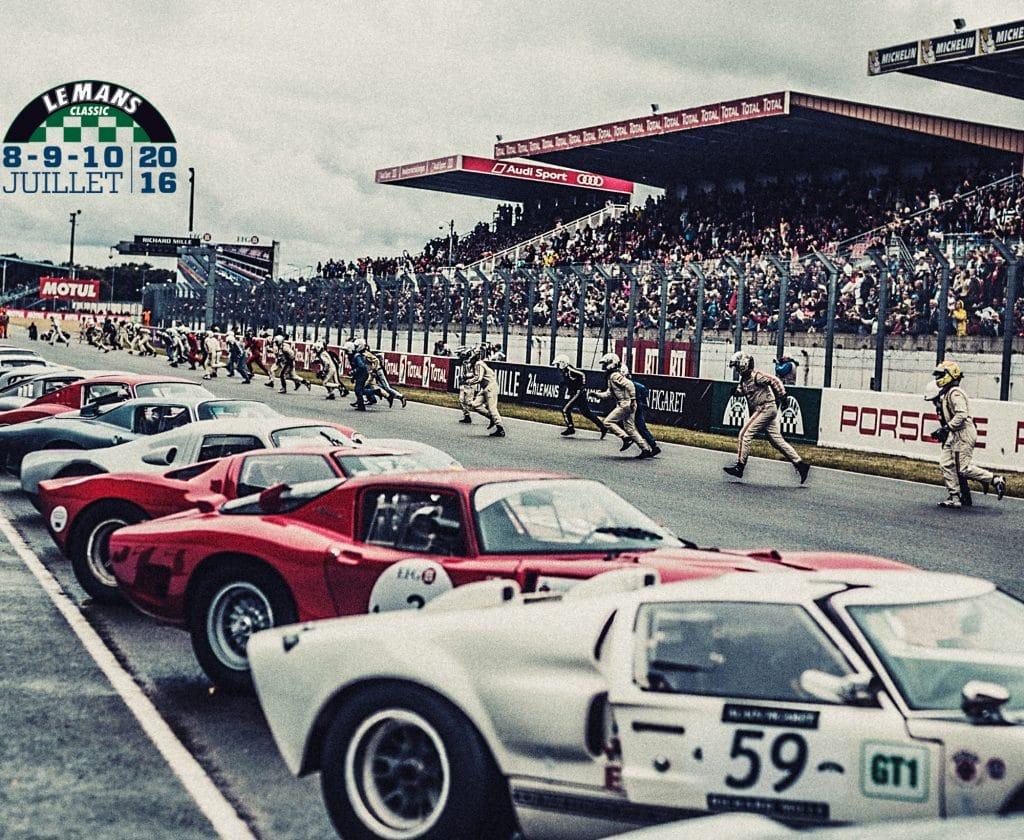 En route pour le Mans Classic !