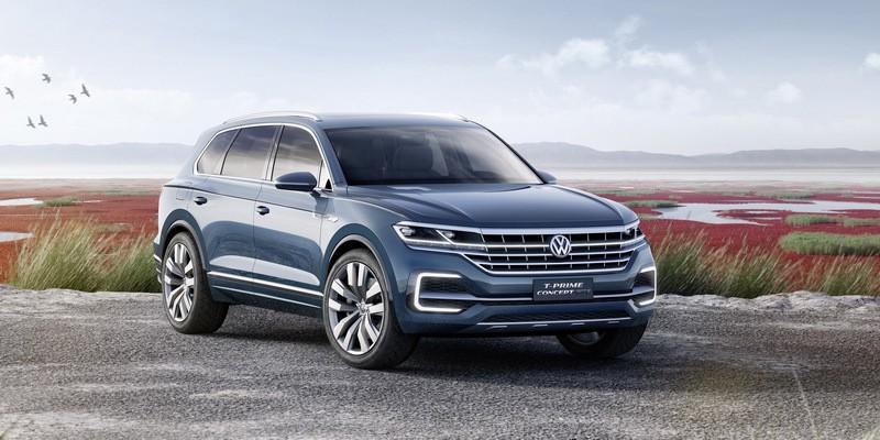 Volkswagen T-Prime : le futur Touareg glamourisé
