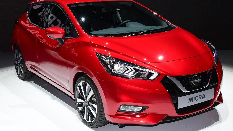 Actualité Nissan - Photo d'illustration La nouvelle Nissan Micra montre son minois