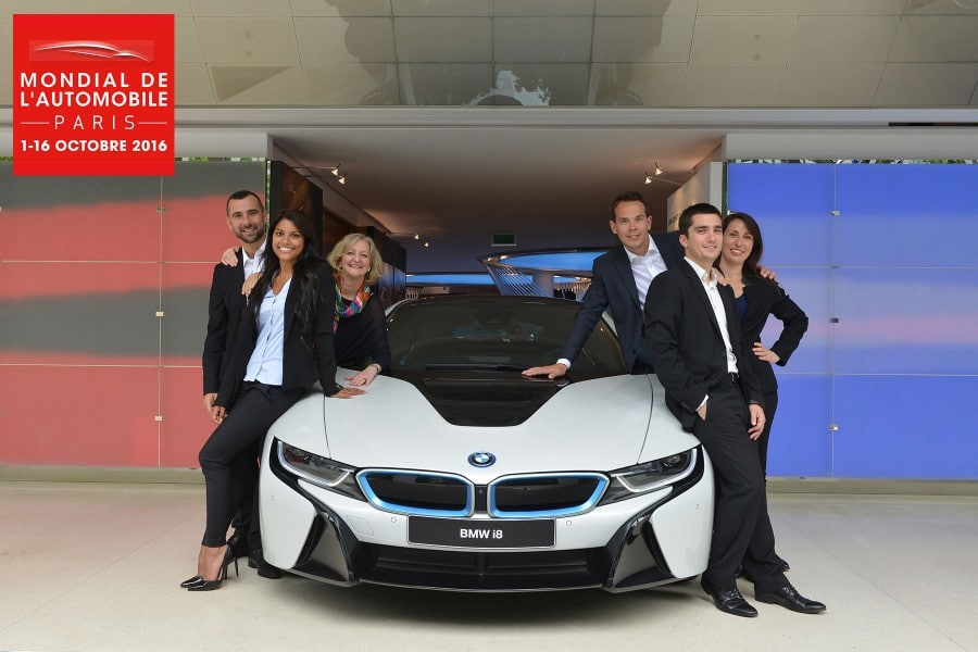 Mondial de l'auto 2016 : BMW propose un recrutement très original
