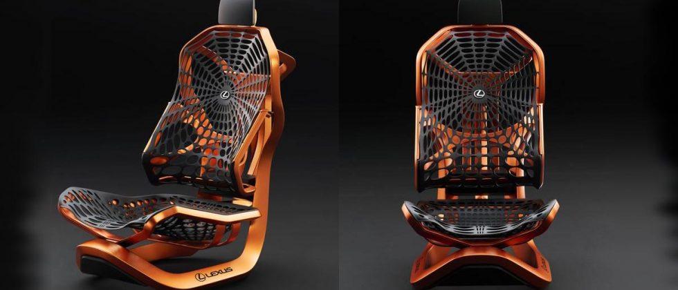Mondial de l'auto : Lexus invente un siège révolutionnaire