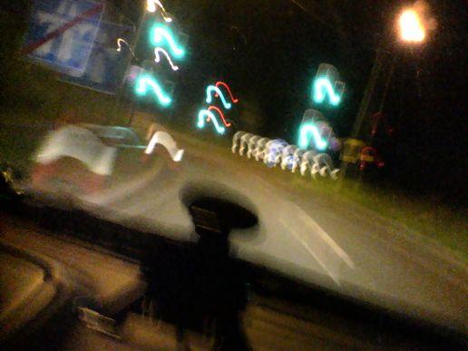 Les automobilistes ont peur la nuit