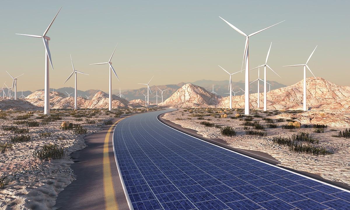 Transition énergétique : la route solaire de Colas