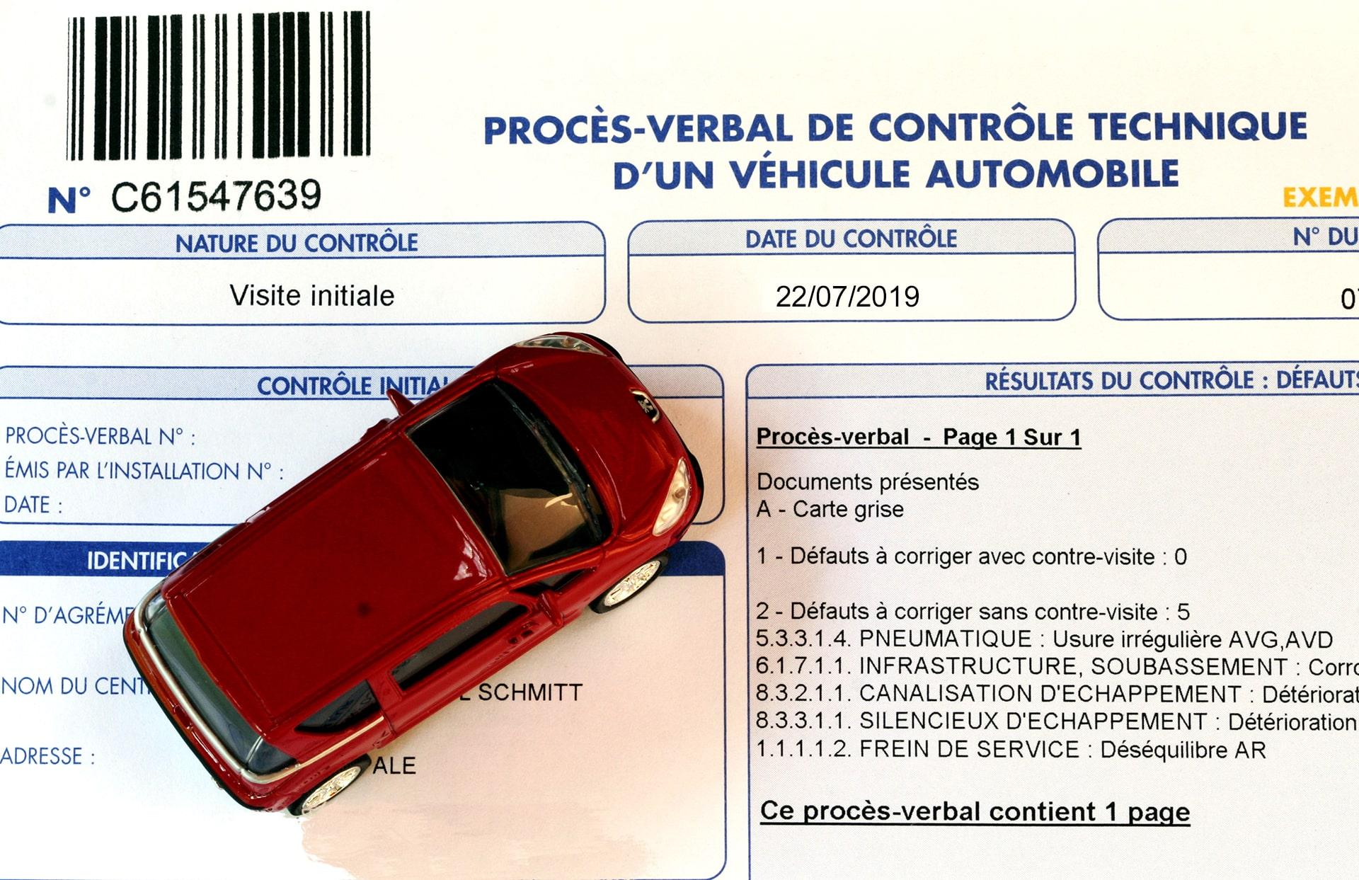 Lire et comprendre le procès verbal du contrôle technique de sa voiture