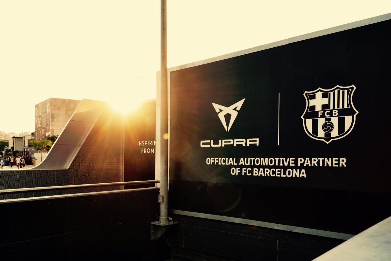 Cupra, nouveau partenaire «automobile et mobilité» du FC Barcelone