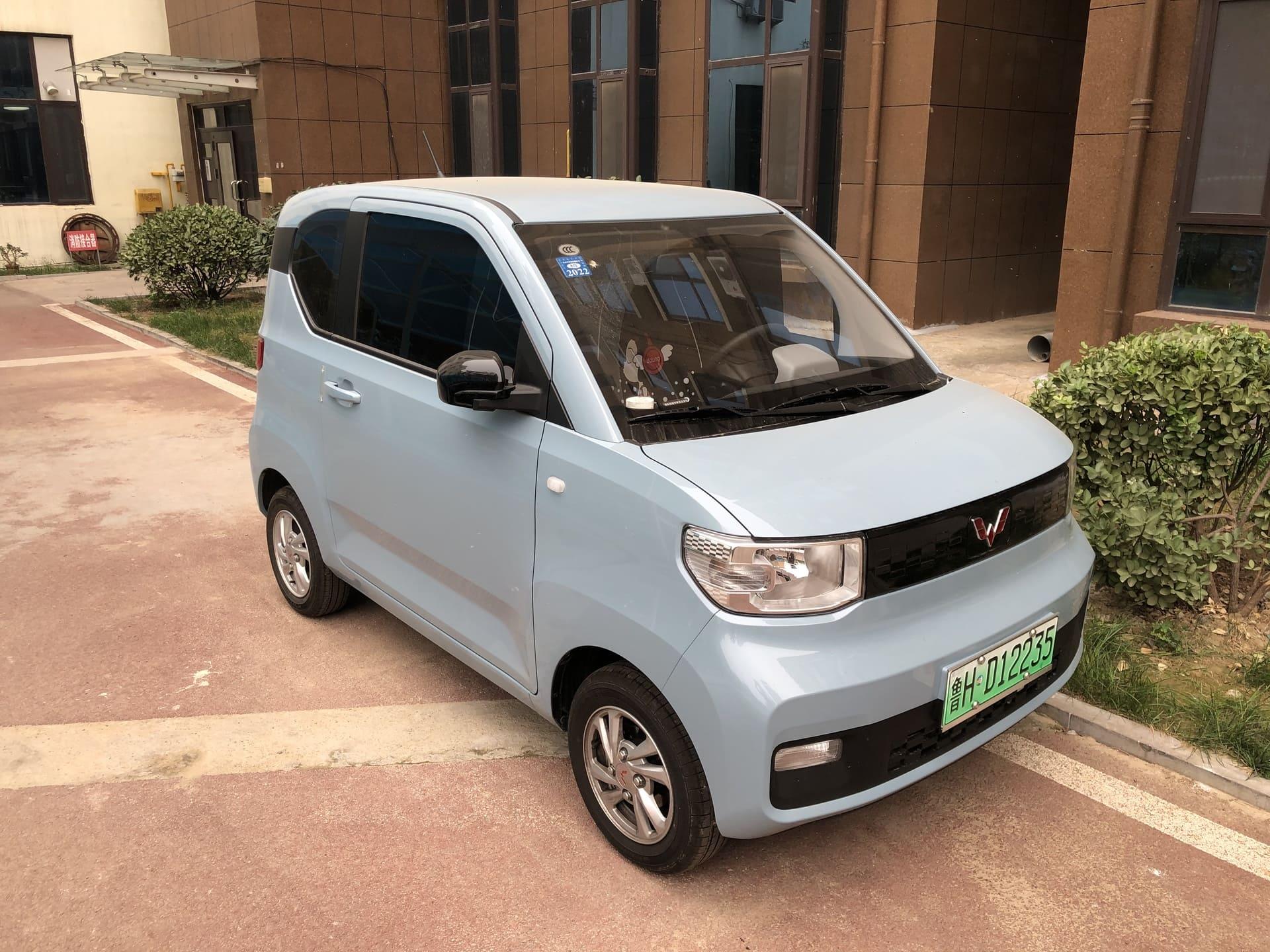 Wuling Hongguang Mini EV : la petite voiture électrique accessible