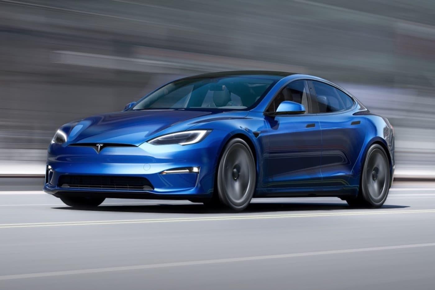 Tesla restyle la Model S