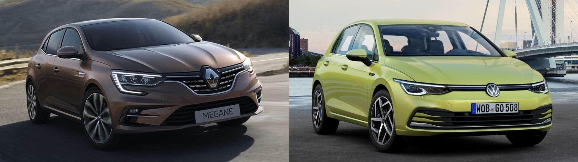 Actualité Renault - Photo d'illustration Renault Mégane VS Golf Volkswagen