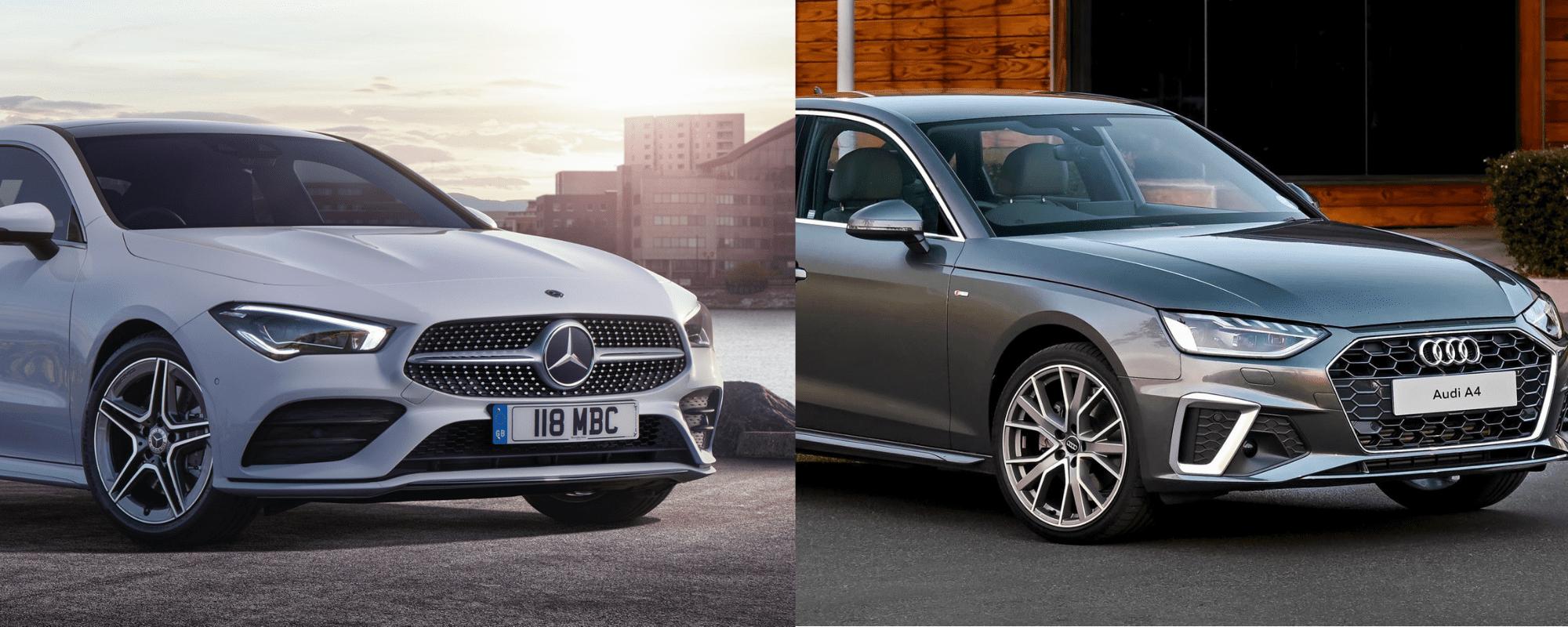 Actualité Audi - Photo d'illustration Comparatif Audi A4 et Mercedes CLA : quelle berline choisir ?