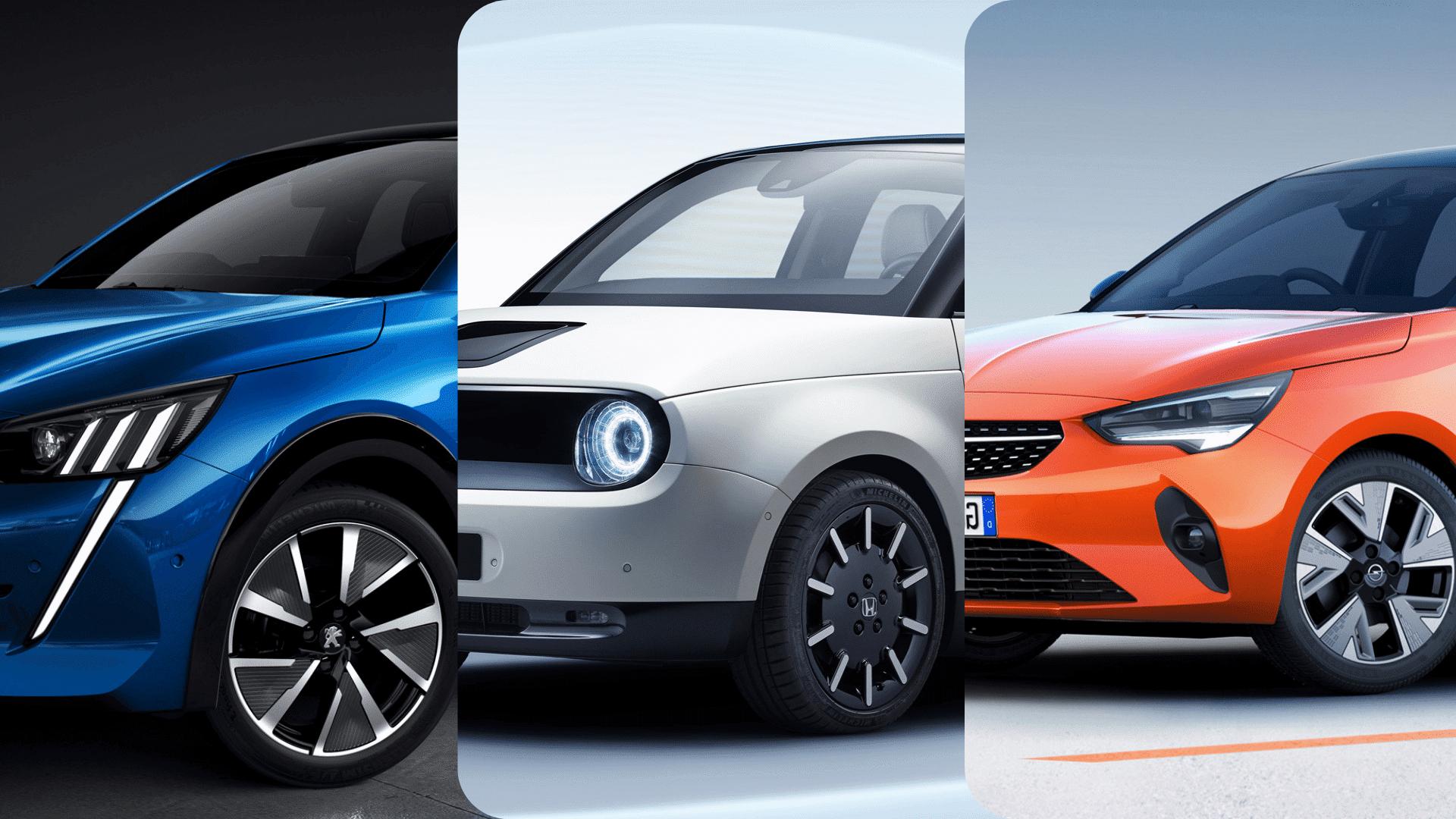 Actualité undefined - Photo d'illustration Comparatif de 3 électriques : Peugeot e-208 vs Opel Corsa-e vs Honda e