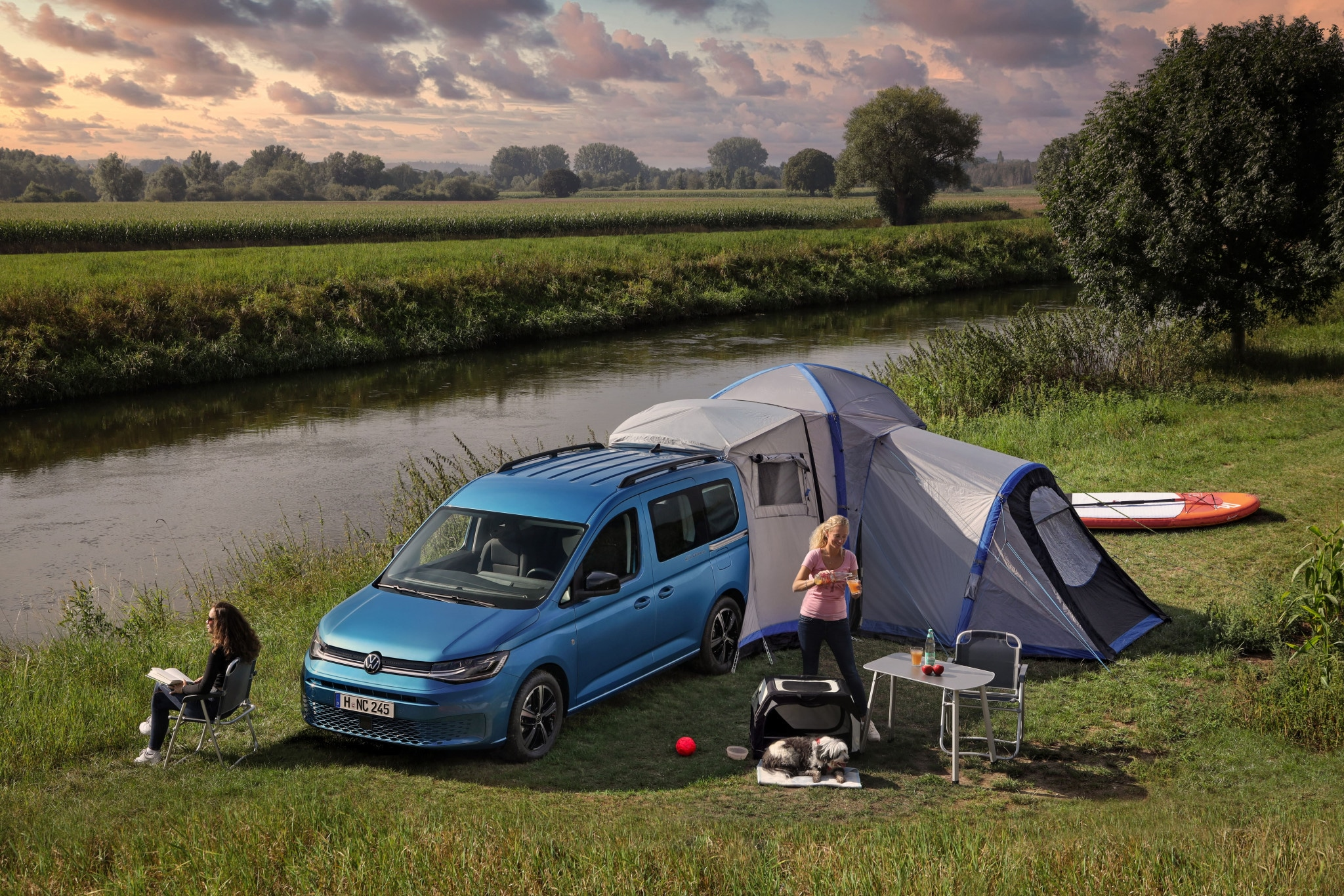 Actualité Audi - Photo d'illustration Volkswagen Caddy California (2021) : on connaît le prix du van aménagé
