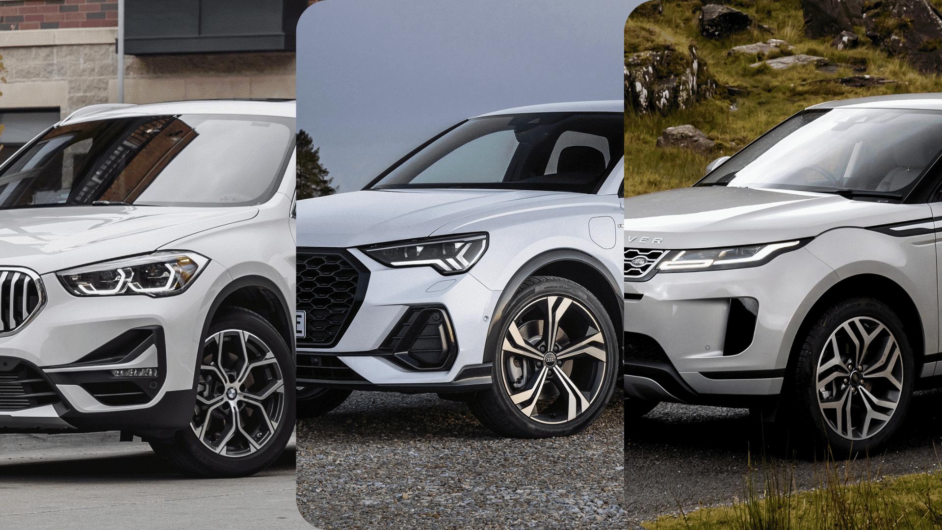 Actualité undefined - Photo d'illustration Comparatif Range Rover Evoque, BMW X1 et Audi Q3