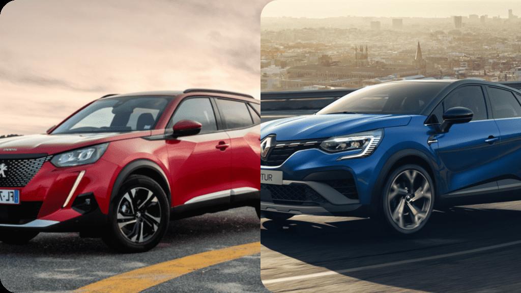 Quel SUV choisir entre le Renault Captur et le Peugeot 2008 ?